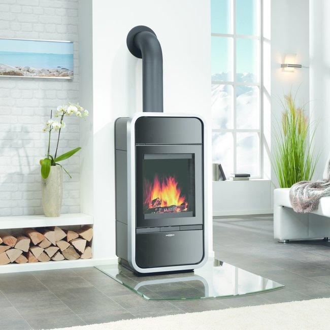 Kachelöfen, Kaminöfen und Heizkamine werden von Ofenbauern so dimensioniert, dass ihre Wärmeleistung zum Bedarf des Raums passt.