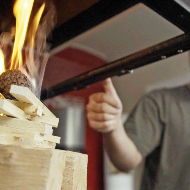 Holz aus heimischen Wäldern für die Energieerzeugung in Heizkaminen, Kachelöfen und Kaminöfen ist genügend vorhanden.