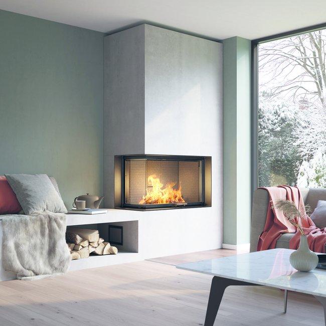 Moderne Holzfeuerstätten wie Heizkamine, Kachelöfen und Kaminöfen sind eine krisensichere Wärmeversorgung.