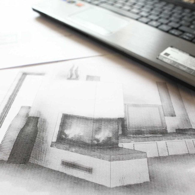 Die Planung von Kachelöfen, Kaminöfen und Heizkaminen gehört zur Ausbildung zum Ofen- und Luftheizungsbauer.