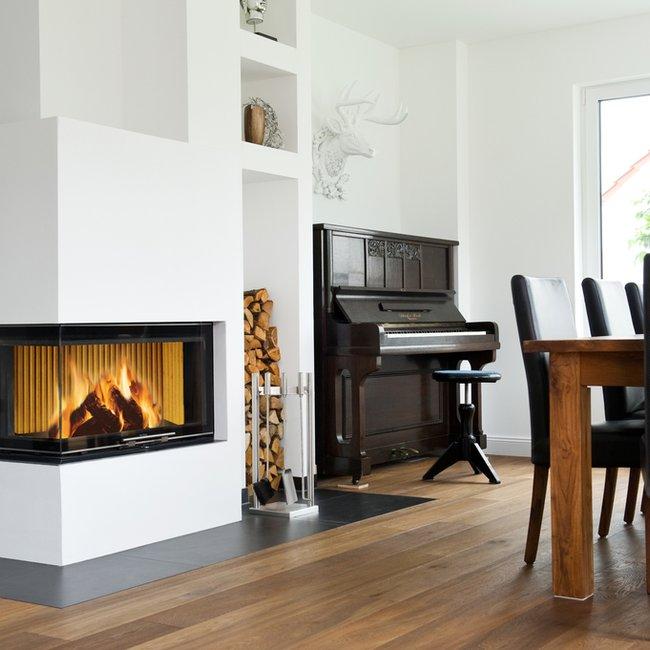 Moderne Holzfeuerstätten bieten eine autarke Wärme.