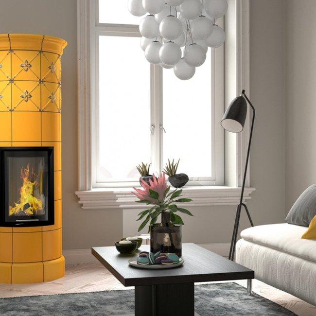 Die Ofenkeramik gibt Holzfeuerstätten ein besonderes Gesicht.