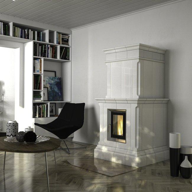 Die Ofenkeramik verleiht Heizkaminen, Kaminöfen und Kachelöfen einen individuellen Charakter.