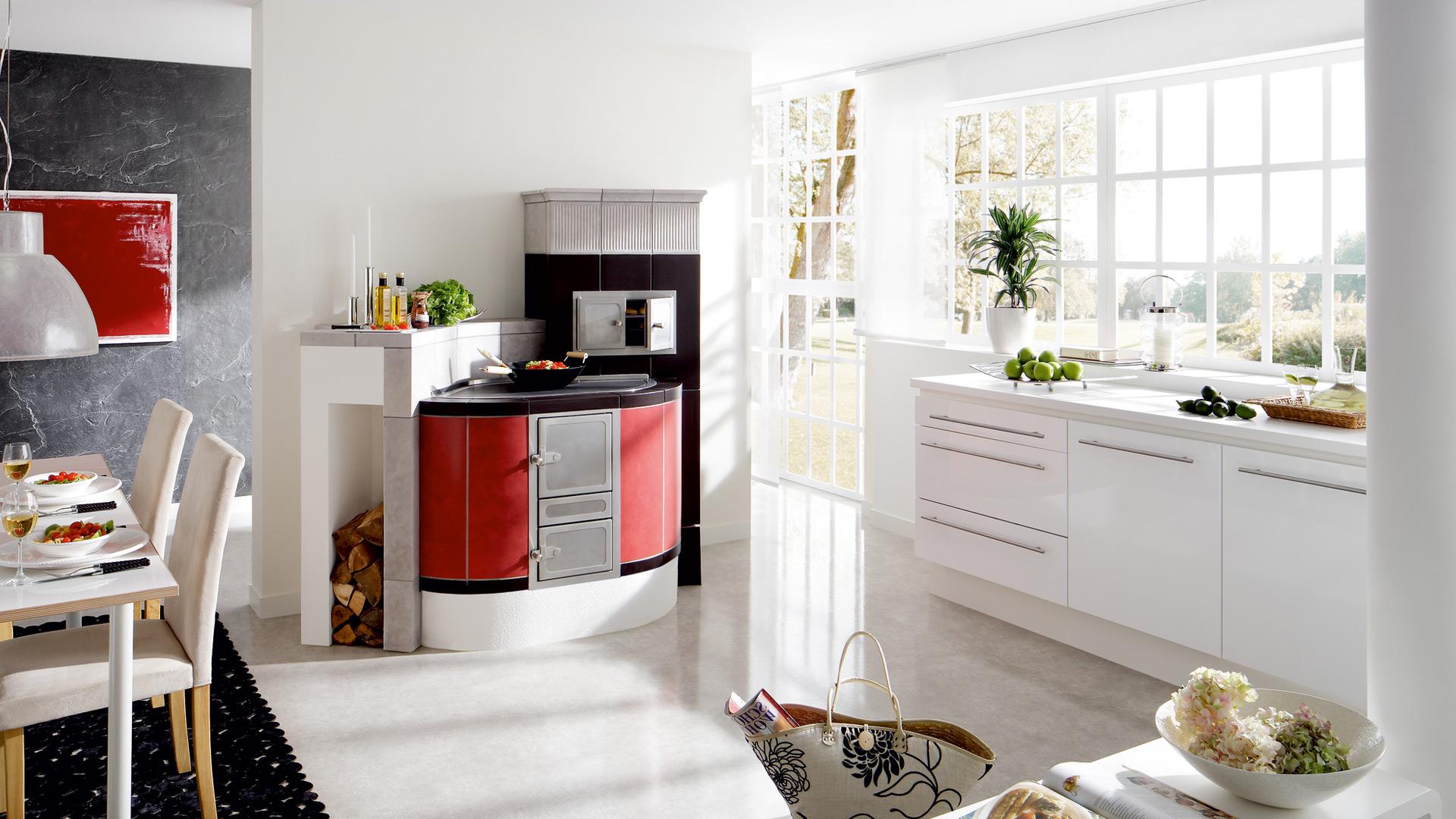 perfekte technik f r genie er der kachelherd. Black Bedroom Furniture Sets. Home Design Ideas