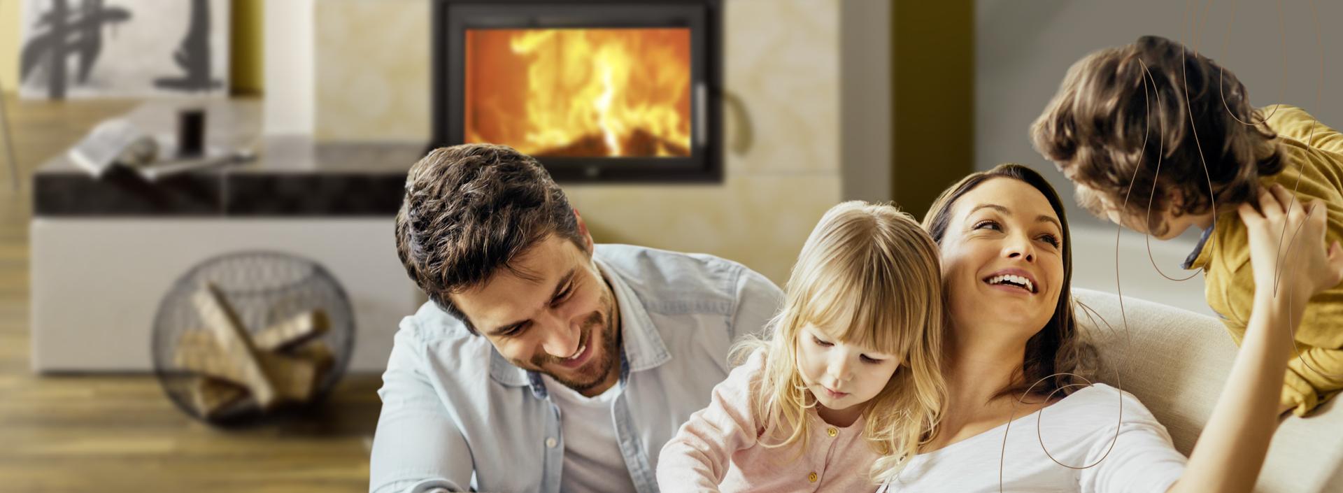 Heizkamine, Kachelöfen und Kaminöfen sind eine natürliche Wärmequelle.